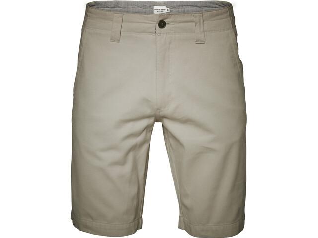 North Bend Epic Pantalones Cortos Elásticos Hombre, khaki crisp